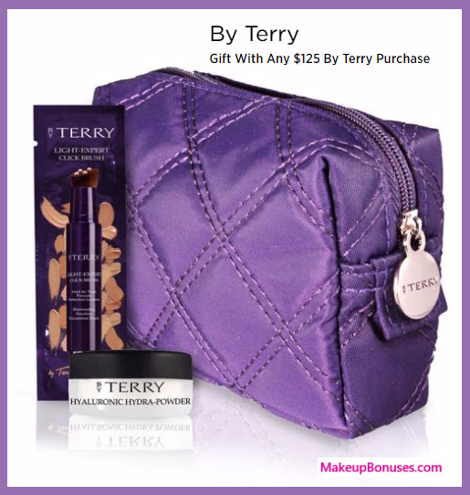 Receive a free 3-pc gift with your $125 By Terry purchase