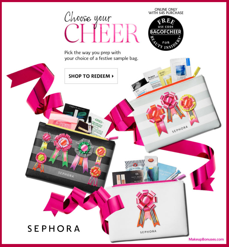 Receive your choice of 13-pc gift with your $45 Multi-Brand purchase