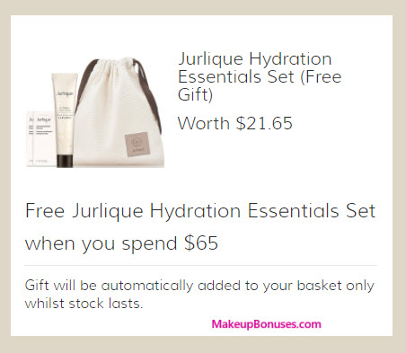 Receive a free 4-pc gift with your $65 Jurlique purchase