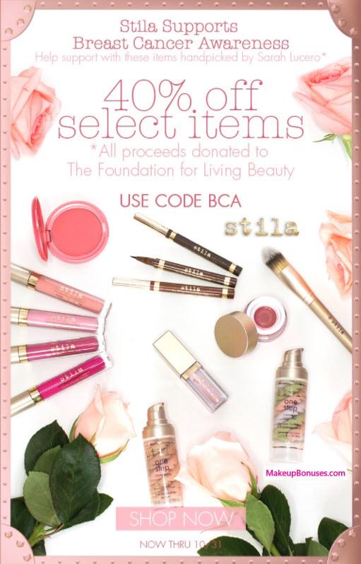 Stila Sale - MakeupBonuses.com