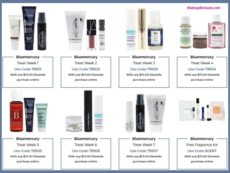 Receive a free 3-pc gift with your $75 Multi-Brand purchase