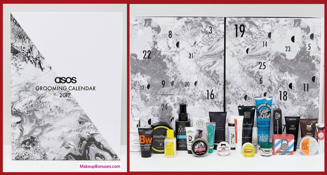 The Grooming Advent Calendar- MakeupBonuses.com