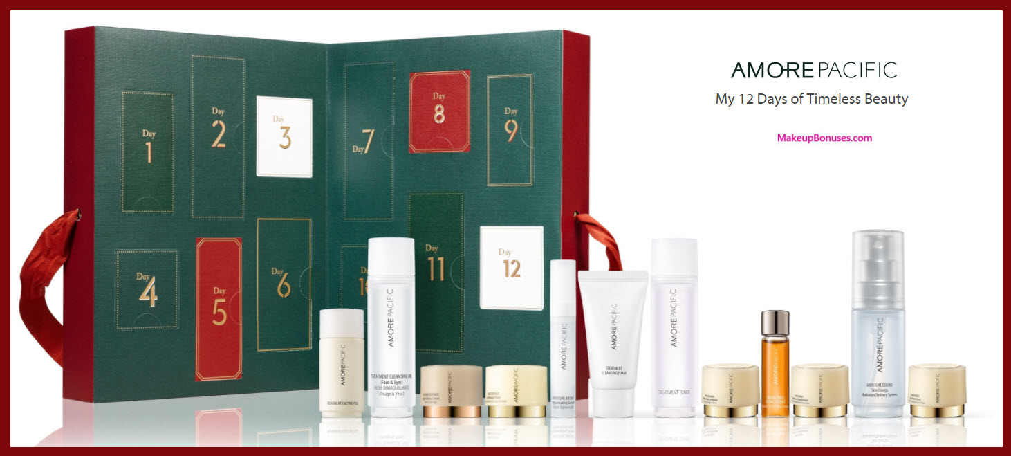 My 12 Days of Timeless Beauty- MakeupBonuses.com