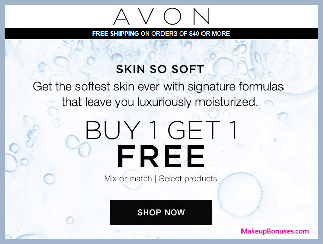 Receive a free 3-pc gift with your 3 Skin So Soft products purchase