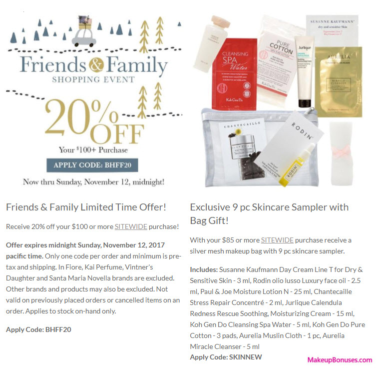 Receive a free 10-pc gift with your $85 Multi-Brand purchase