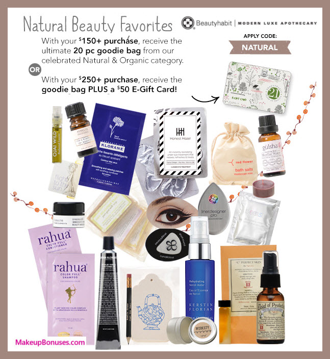 Receive a free 20-pc gift with your $150 Multi-Brand purchase