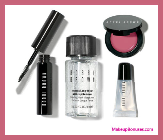 Receive a free 4-pc gift with your $125 Bobbi Brown purchase