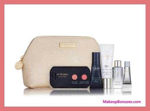 Receive a free 6-pc gift with your $350 Clé de Peau Beauté purchase