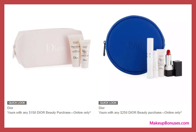 Receive a free 8-pc gift with your $250 Dior Beauty purchase