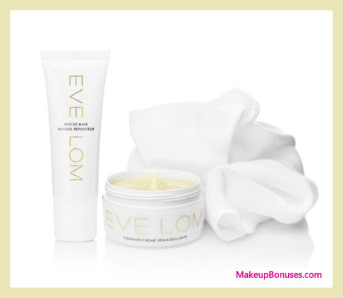 Receive a free 3-pc gift with your $145 Eve Lom purchase