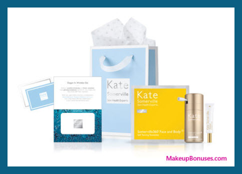 Receive a free 3-pc gift with your $150 Kate Somerville purchase