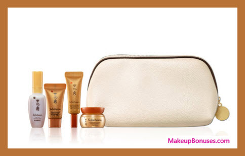 Receive a free 5-pc gift with your $350 Sulwhasoo purchase