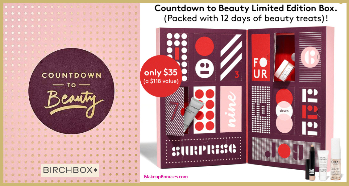Limited Edition: Countdown to Beauty- MakeupBonuses.com