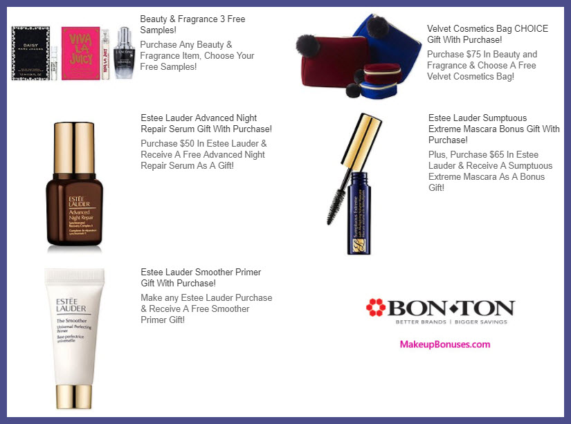 Receive a free 3-pc gift with your $65 Estée Lauder purchase