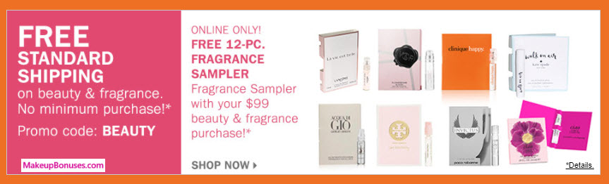 Receive a free 12-pc gift with your $99 Multi-Brand purchase