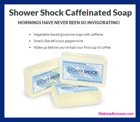 Shower Shock Caffeinated Soap - MakeupBonuses.com