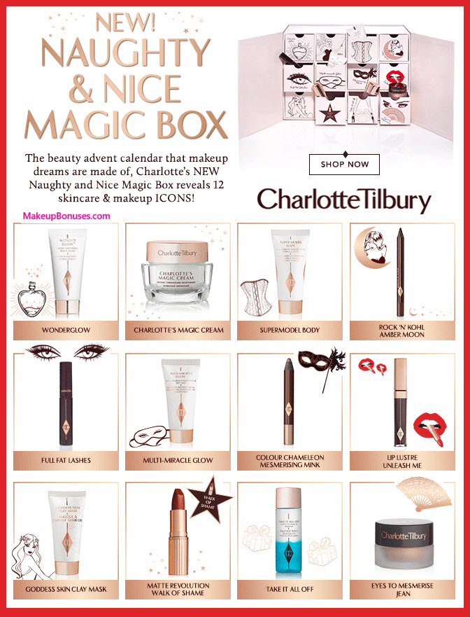 Naughty & Nice Magic Box- MakeupBonuses.com