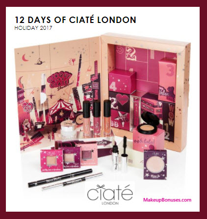 12 Days of Ciate London- MakeupBonuses.com