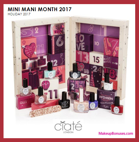 London Mini Mani Month 2017- MakeupBonuses.com
