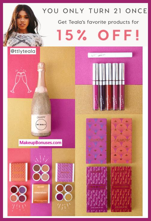 ColourPop Cosmetics Sale - MakeupBonuses.com