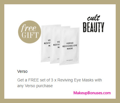 Receive a free 3-pc gift with your purchase