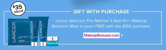 Receive a free 4-pc gift with your $150 Multi-Brand purchase