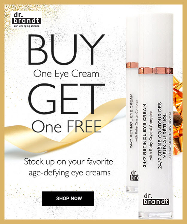 Receive a free 3-pc gift with your 3+ Eye Creams purchase