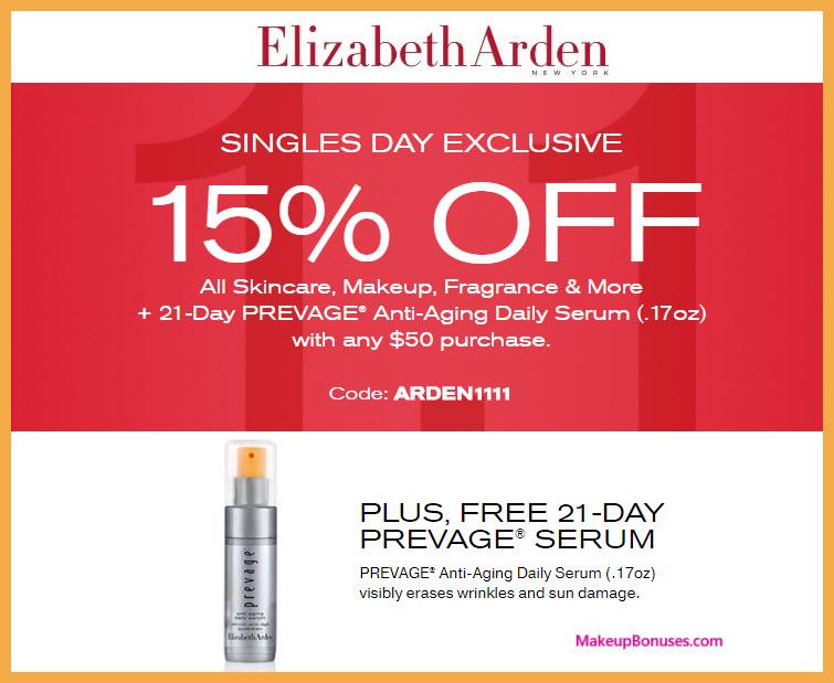 Elizabeth Arden Sale - MakeupBonuses.com