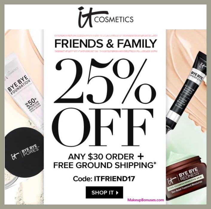 It Cosmetics Sale - MakeupBonuses.com