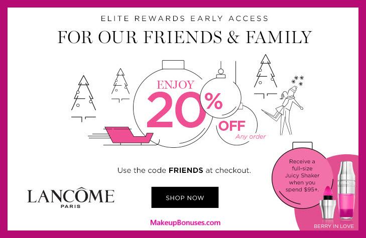 Lancôme Sale - MakeupBonuses.com