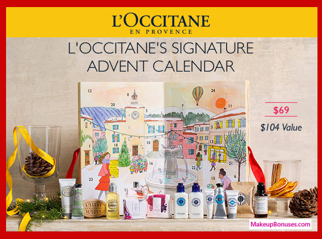 Signature Advent Calendar- MakeupBonuses.com