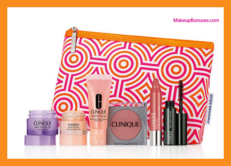 Receive a free 7-pc gift with your $28 Clinique purchase