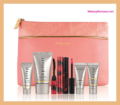 Receive a free 7-pc gift with your $50 Elizabeth Arden purchase