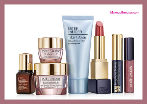 Receive a free 7-pc gift with your $50 Estée Lauder purchase