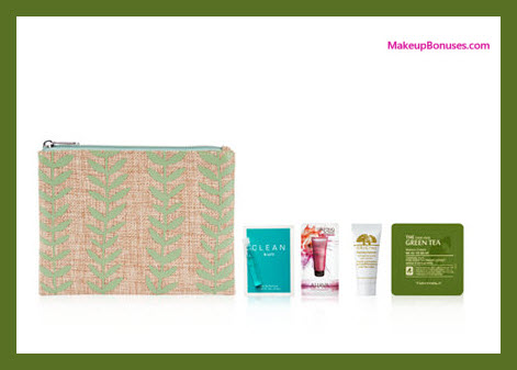 Receive a free 5-pc gift with your $45 Natural Beauty purchase