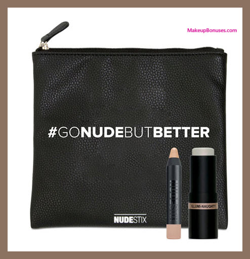 Receive a free 3-pc gift with your $48 NUDESTIX purchase