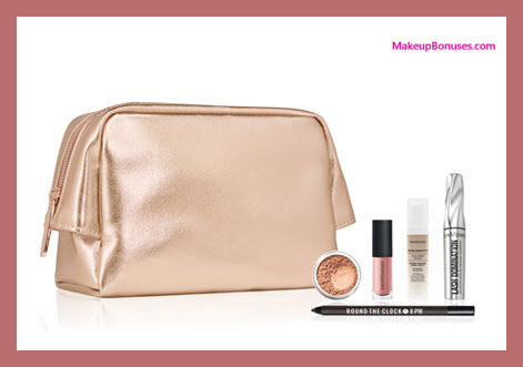 Receive a free 6-pc gift with your $60 bareMinerals purchase