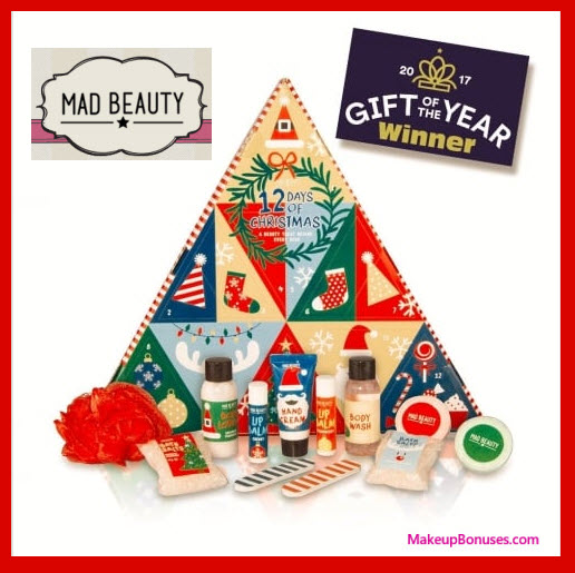 Mad Beauty '12 Days of Christmas' Beauty Advent Calendar- MakeupBonuses.com