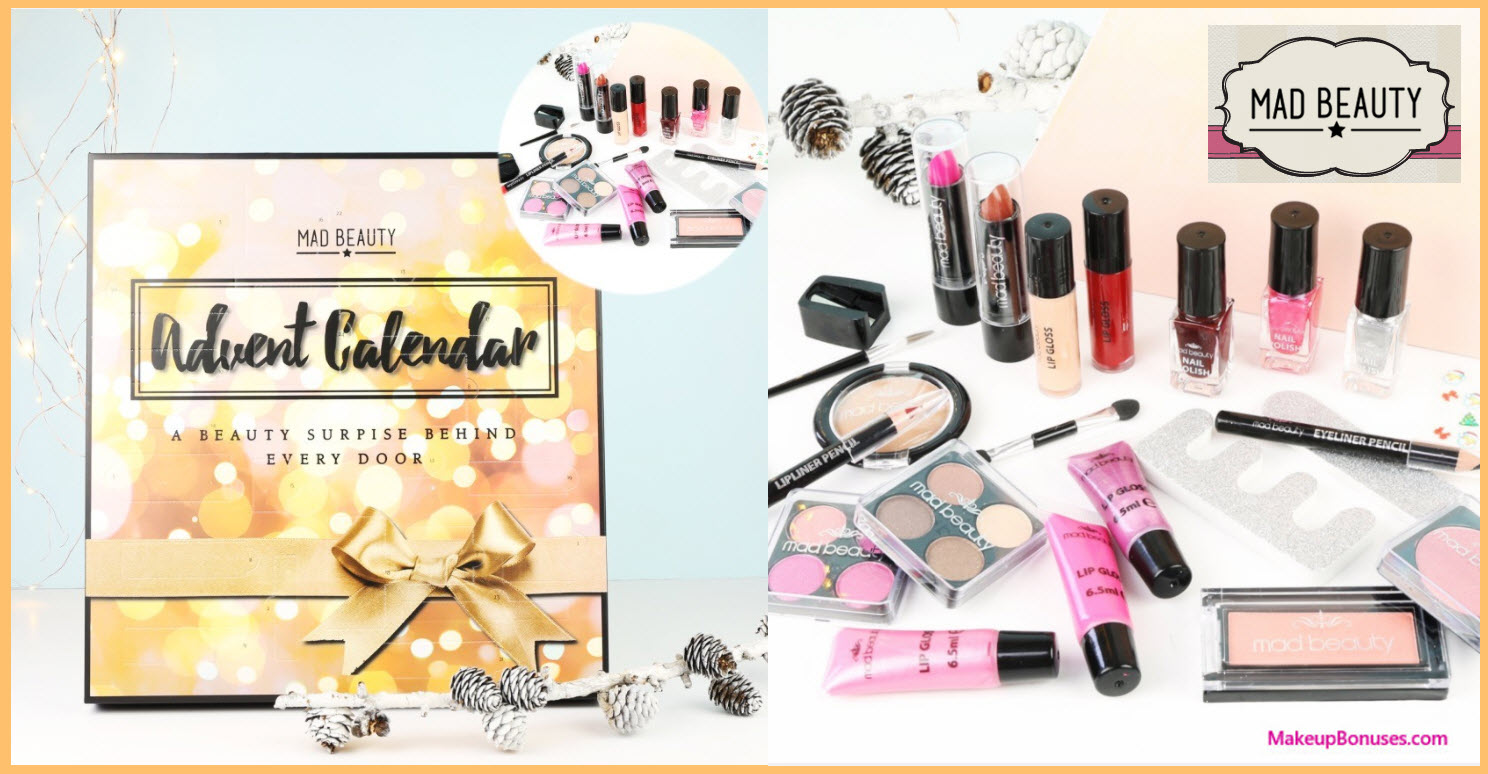 MAD Beauty Bright Lights Advent Advent Calendar- MakeupBonuses.com