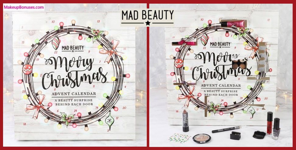 MAD Beauty Christmas Lights Advent Calander- MakeupBonuses.com
