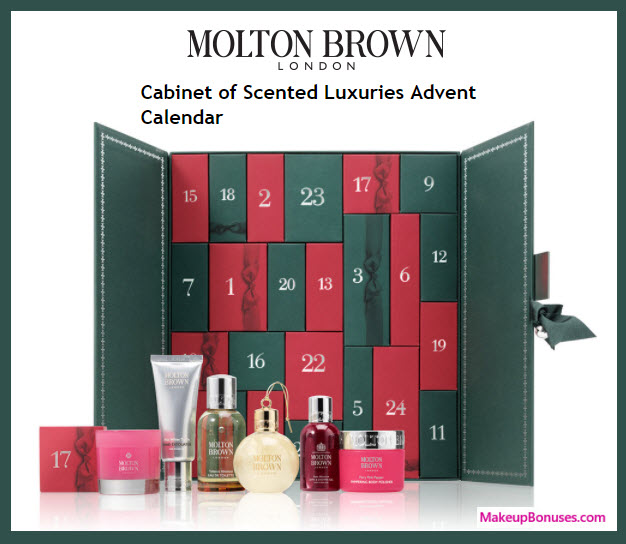 Limited Edition Scented Luxuries Advent Calendar- MakeupBonuses.com