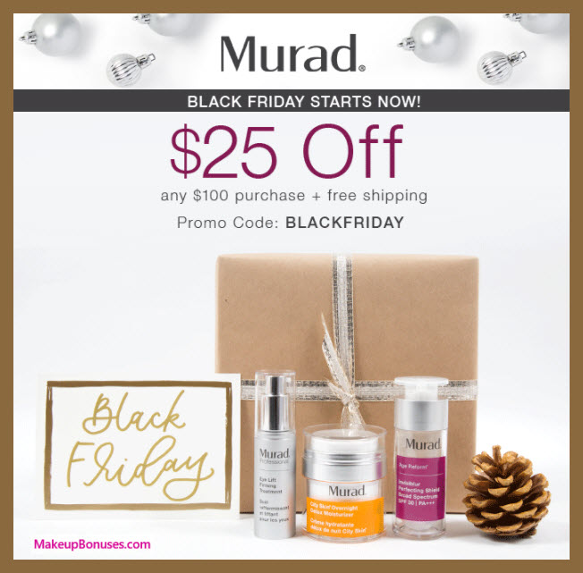 Murad Sale - MakeupBonuses.com