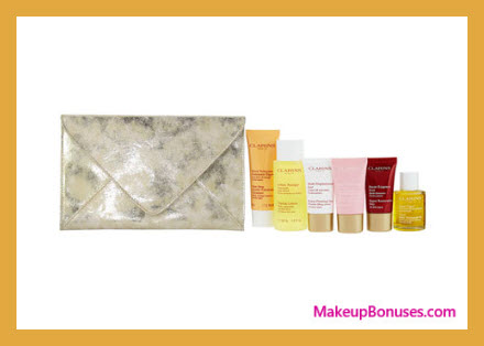 Receive a free 8-pc gift with your $125 Clarins purchase