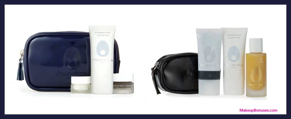 Receive a free 8-pc gift with your $300 Omorovicza purchase