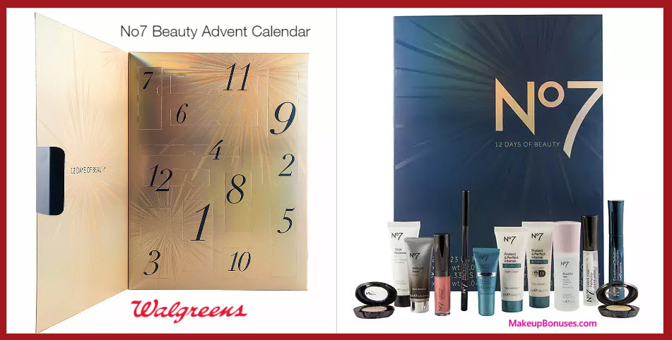 No7 Beauty Advent Calendar- MakeupBonuses.com