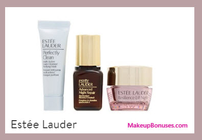 Receive a free 3-pc gift with your $35 Estée Lauder purchase