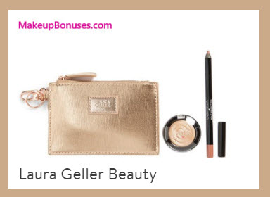Receive a free 3-pc gift with your $35 Laura Geller purchase