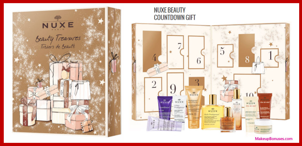 NUXE BEAUTY COUNTDOWN GIFT SET- MakeupBonuses.com