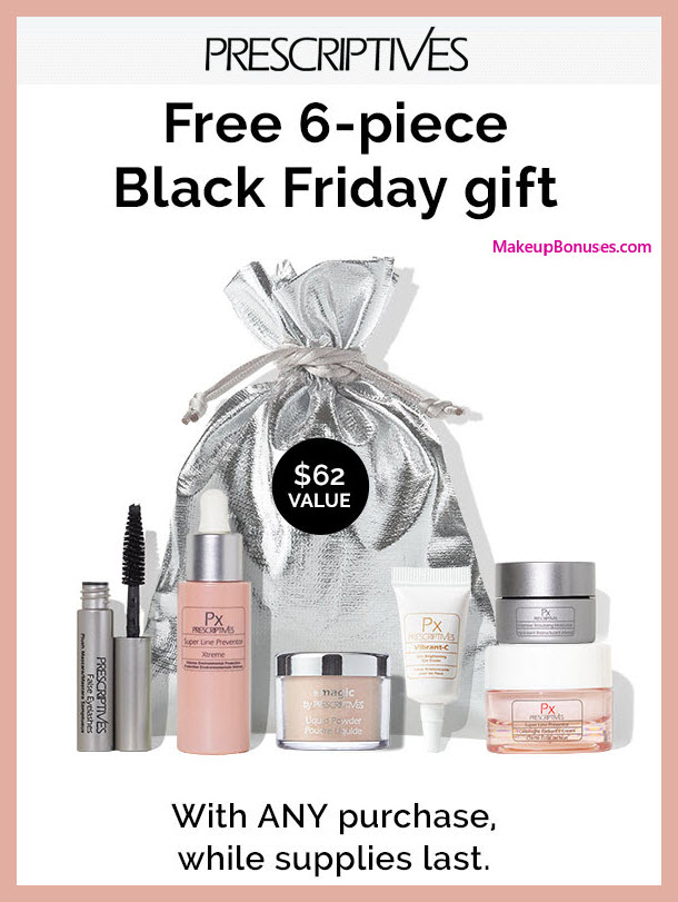 Receive a free 6-pc gift with your purchase