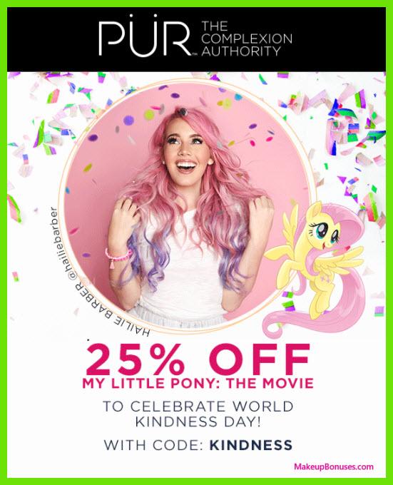 PÜR Sale - MakeupBonuses.com